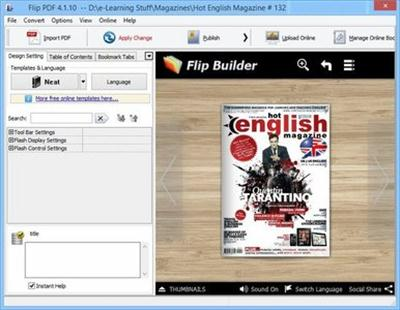 FlipBuilder Flip 4.3.23 Multilingual Portable
