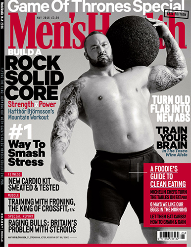 Men's Health - May 2016  UK