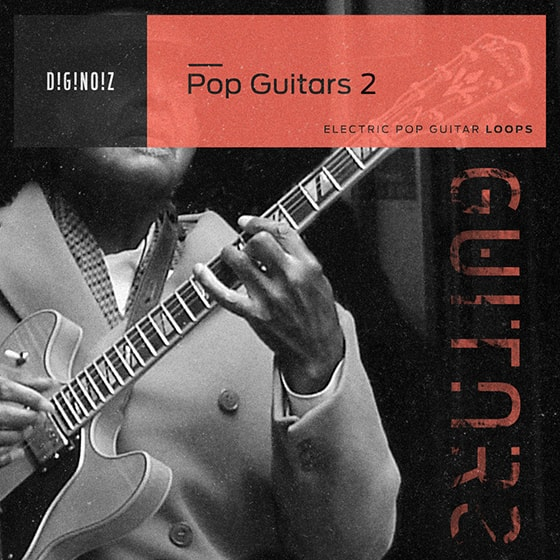 Diginoiz Pop Guitars 2 WAV AiFF Apple Loops