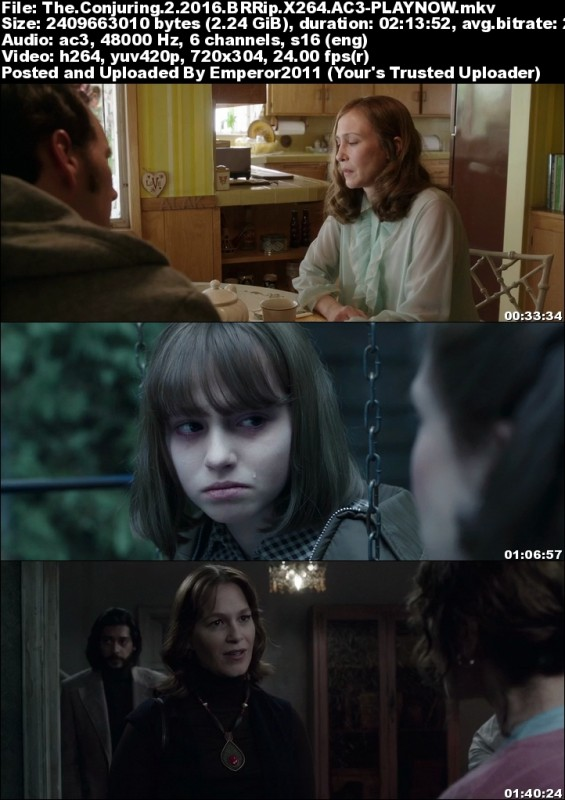 The Conjuring 2 (2016) BRRip X264 AC3-PLAYNOW