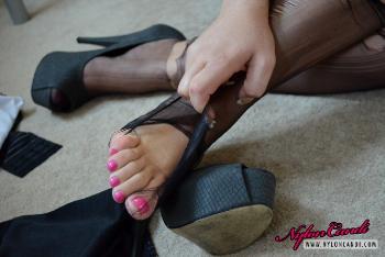 Cristal Cummings - Ripped Stockings