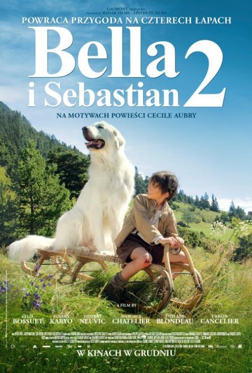 BELLA I SEBASTIAN 2 / BELLE ET SÉBASTIEN, L'AVENTURE CONTINUE (2015) DUBBING PL