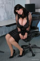Milena velba in the office porn tube