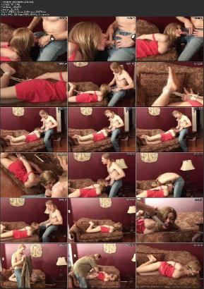 Bondage sur une chaise en extrieur - PornDoe