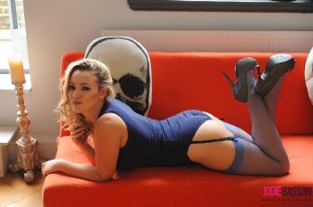 set194 Blue Bodysuit