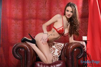 set002 See Through Red Lingerie 27.01.15