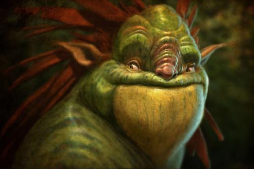 Создание фото Real Существ в Photoshop 1 - 2 Frogman