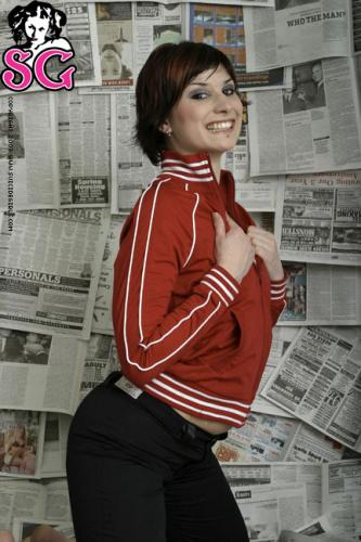05-13 - Heathermarie - Newspaper