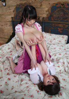 2015-09 - Milk for Hitomi (with Marie) - 64 pix