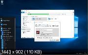 Windows 10 Pro x86/x64 v.10586.318 TH2 Micro by Lopatkin (RUS/2016)