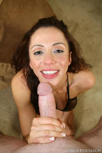 Ariella Ferrera - Cum On My Face