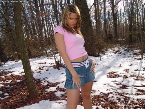169 - Jean Skirt