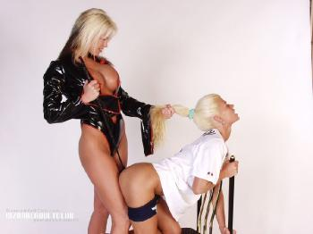 Mistress and her bitch