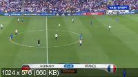 Футбол. Чемпионат Европы 2016. 1/2 финала. Германия - Франция [Матч! Наш спорт] [07.07] (2016) WEBRip-AVC