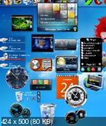 Пакет гаджетов для Windows. 217 гаджетов для рабочего стола