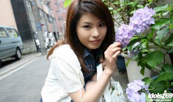 Meiko - Meiko Asian Model Enjoys Posing And Sucking Cock