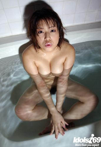 Mai Haruna - Mai Haruna Lovely Asian Model Shows Off Her Big Tits