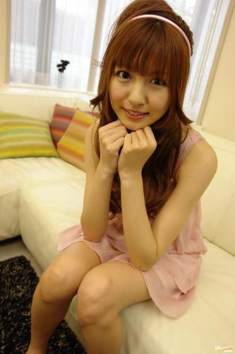 Kotone Aisaki - Kotone Aisaki Asian teen fondles her hairy pussy