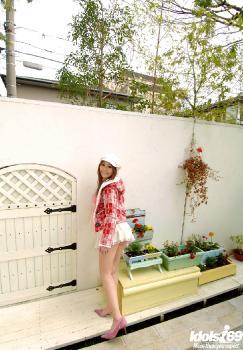 Reon Kosaka - Reon Kosaka Japanese Model Poses As Student And Maid