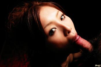 Suzuka Ishikawa - Suzuka Ishikawa Lovely Japanese doll gives a hot blowjob