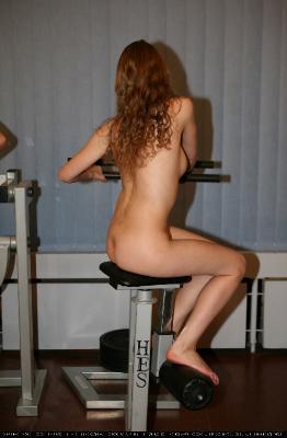 Gymnasts Back Exercise