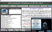All Activation Windows 7-8-10 v8.5