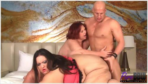 Pure-BBW - Inviting Apple Bomb into a SSBBW threesome 2016 [FullHD 1080p]