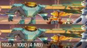 Без черных полос (На весь экран)  Рэтчет и Кланк: Галактические рейнджеры 3D / Ratchet & Clank 3D Вертикальная анаморфная