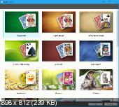 Solsuite Solitaire Portable 2016 16.10 RUS + Graphics Pack FoxxApp