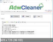 AdwCleaner 6.020 - удаление нежелательных панелей из веб-браузеров