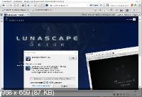 Lunascape 6.14.2 - веб-браузер