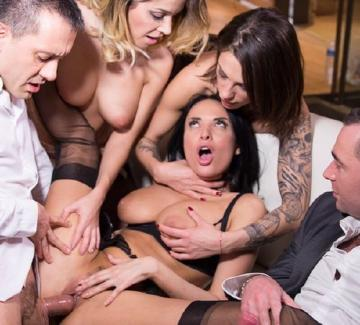 Anissa Kate, Cara St Germain, Nikita Bellucci - Hardcore sex party with Cara, Anissa and Nikita (2016) FullHD 1080p