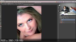 Детали лица: мейкап и ретушь - [profileschool]